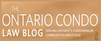 Ontario Condo Law Blog